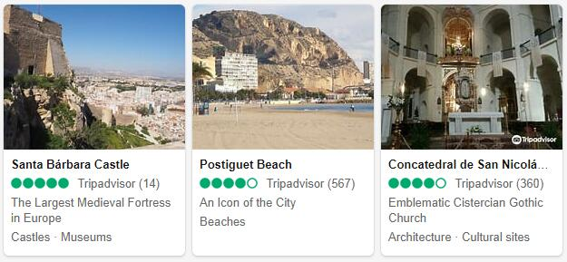 Alicante Attractions 2