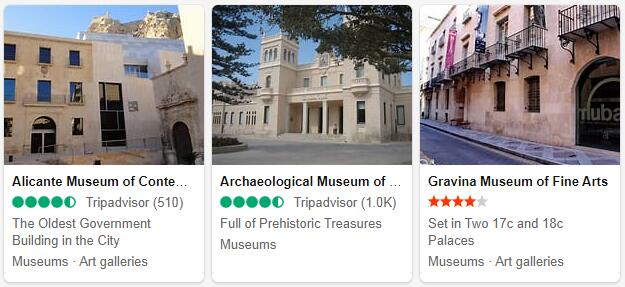 Alicante Attractions