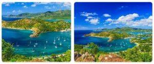 Major Landmarks in Antigua and Barbuda
