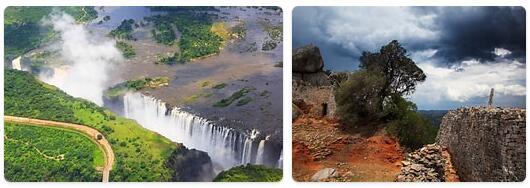 Major Landmarks in Zimbabwe