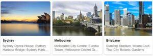 Tourist in Australia