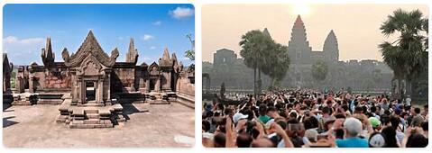 Tourist in Cambodia