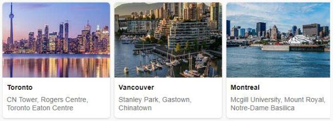 Tourist in Canada