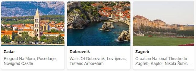 Tourist in Croatia