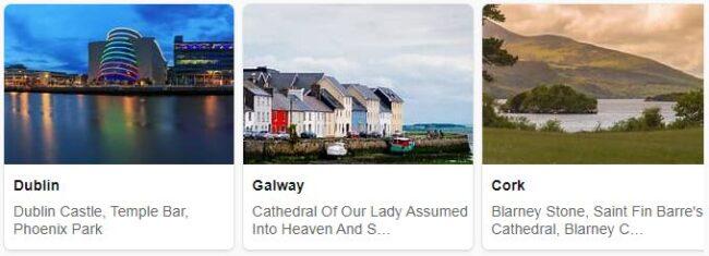 Tourist in Ireland