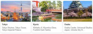 Tourist in Japan