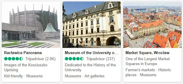 Wroclaw Attractions