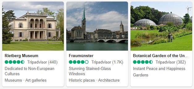 Zurich Attractions 2