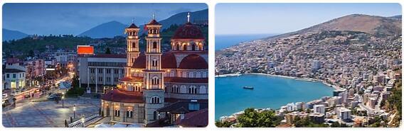 Major Landmarks in Albania