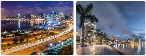 Major Landmarks in Angola