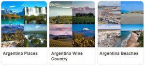 Major Landmarks in Argentina