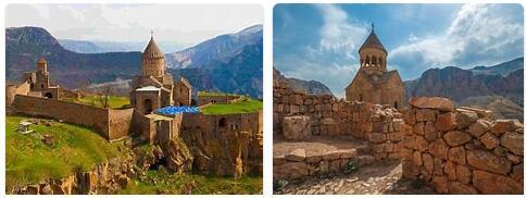 Major Landmarks in Armenia
