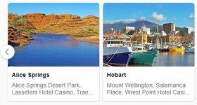 Major Landmarks in Australia