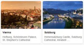 Major Landmarks in Austria