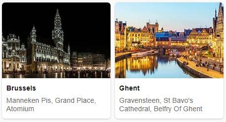 Major Landmarks in Belgium