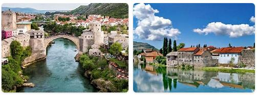 Major Landmarks in Bosnia and Herzegovina