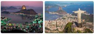 Major Landmarks in Brazil