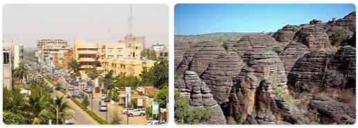 Major Landmarks in Burkina Faso