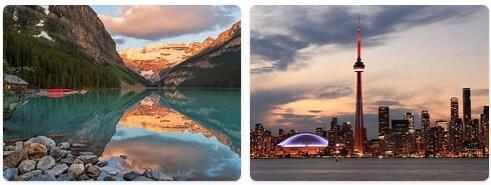 Major Landmarks in Canada