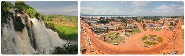 Major Landmarks in Central African Republic