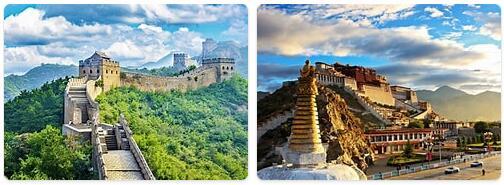 Major Landmarks in China