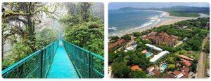 Major Landmarks in Costa Rica