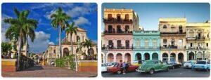 Major Landmarks in Cuba