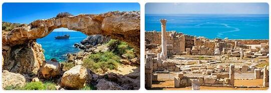 Major Landmarks in Cyprus