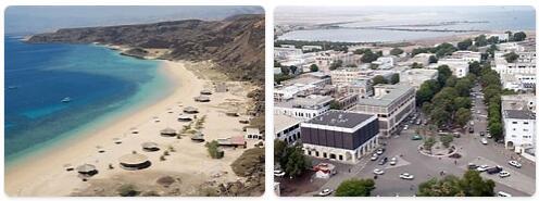 Major Landmarks in Djibouti