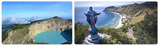 Major Landmarks in East Timor