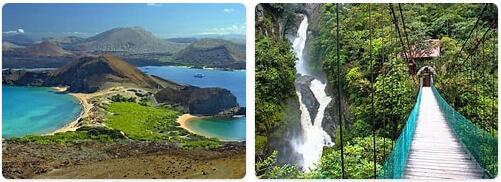 Major Landmarks in Ecuador