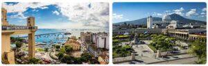 Major Landmarks in El Salvador