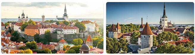 Major Landmarks in Estonia