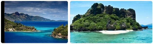 Major Landmarks in Fiji