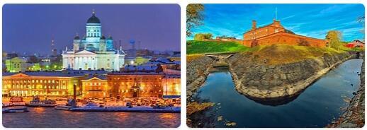 Major Landmarks in Finland