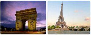 Major Landmarks in France