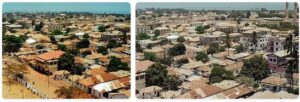 Major Landmarks in Gambia