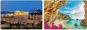 Major Landmarks in Greece