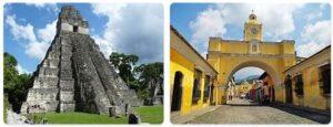 Major Landmarks in Guatemala