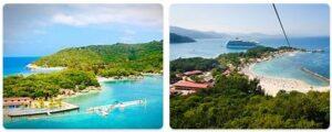 Major Landmarks in Haiti