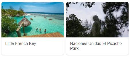 Major Landmarks in Honduras