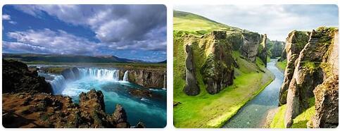 Major Landmarks in Iceland