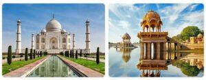Major Landmarks in India