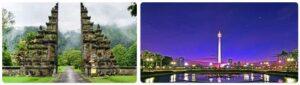Major Landmarks in Indonesia