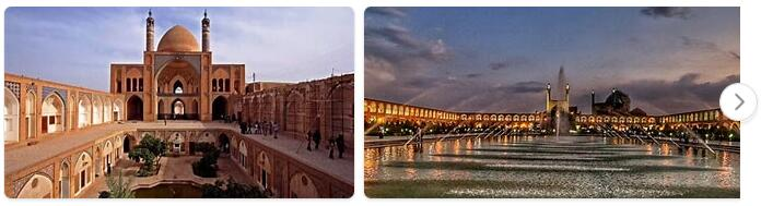 Major Landmarks in Iran