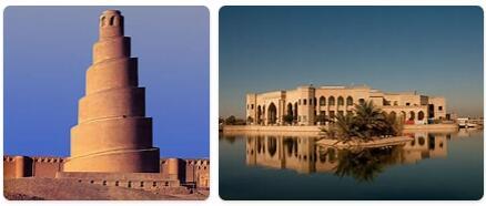 Major Landmarks in Iraq