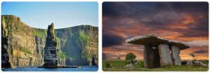 Major Landmarks in Ireland