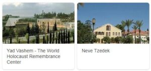 Major Landmarks in Israel