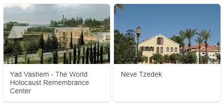 Major Landmarks in Israel