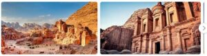 Major Landmarks in Jordan